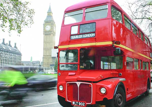 Vintage London Bus Tour & Thames Cruise